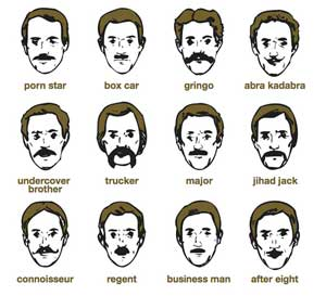 How to shave mustache styles. No Shave November, or Movember: The ...
