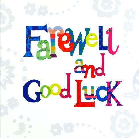 Good Luck Card Template  Good Luck Card Template